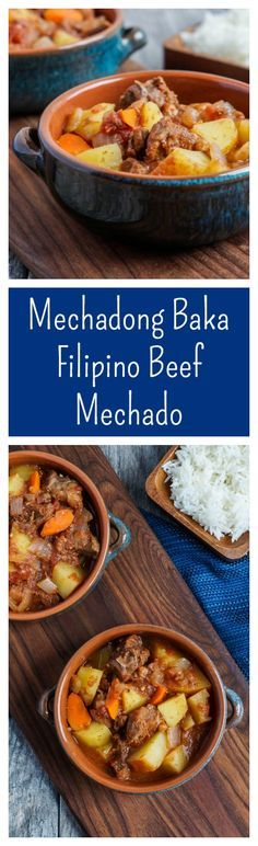 Mechadong Baka- Filipino Beef Mechado  #mechadong #baka #filipino #philippines #asia #asian #beef #stew #winter