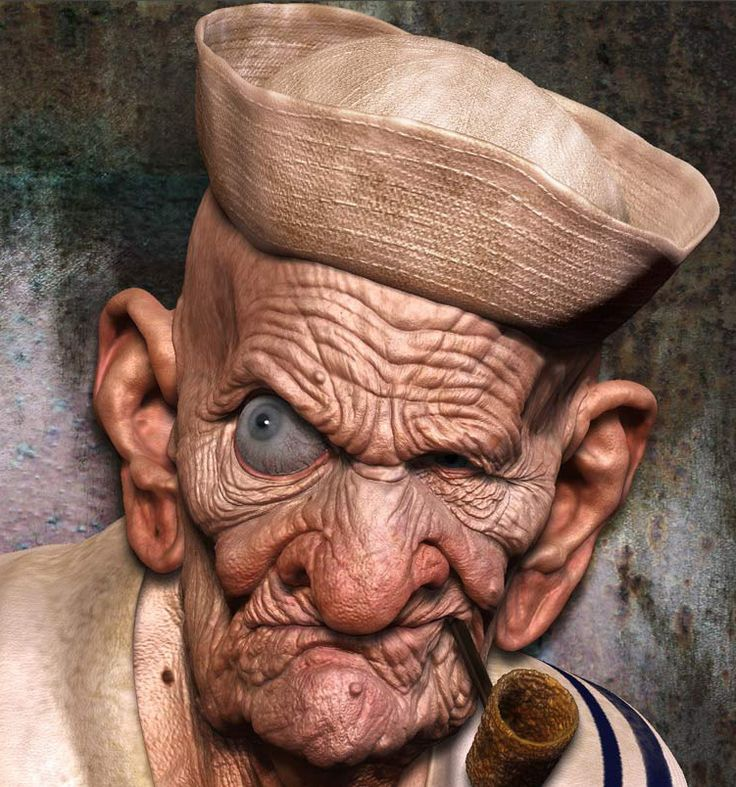 Cartoon Characters Old Man : Best images about popeye the sailor man on