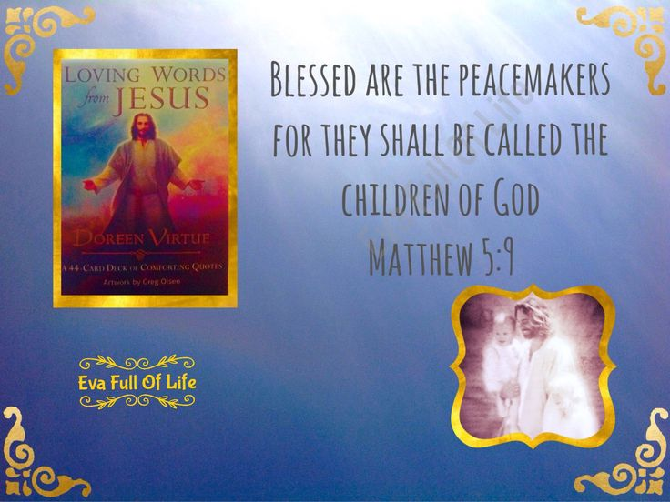 Oracle cards. Loving words from Jesus by Doreen Virtue published by Hay House.