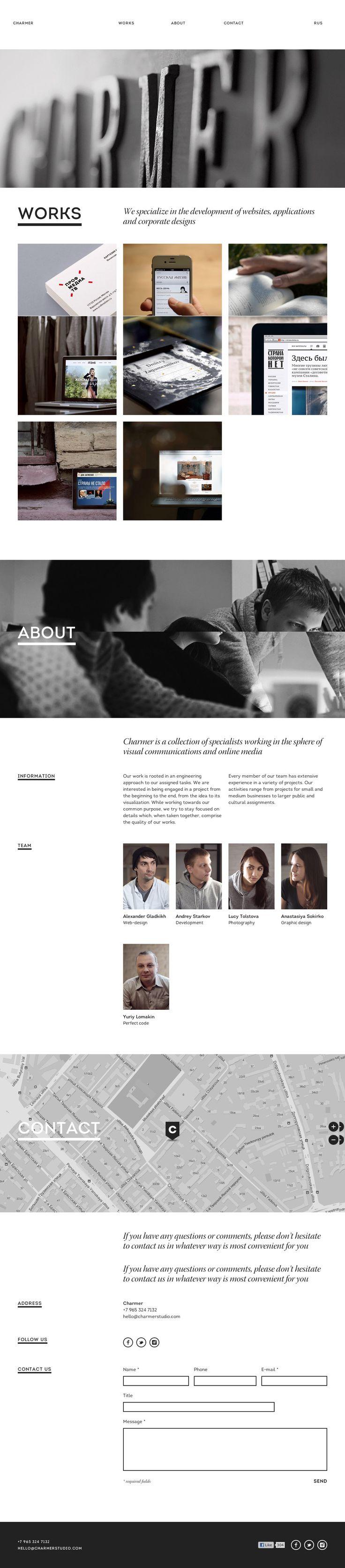 Charmer — Grid Based Websites Showcase —Grid Assault