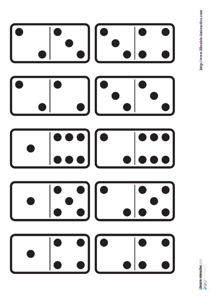 29 images des dominos des chiffres de 1 6 ainsi qu 39 une planche imprimer pour fabriquer le. Black Bedroom Furniture Sets. Home Design Ideas