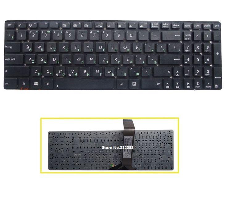 New Russian Keyboard RU for ASUS K55 K55A K55V K55VJ A55V A55VD K55VM K55VS K55VD K55DE R500v R700V laptop #Affiliate