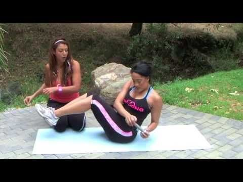 Curvy Girls Fitness - Bikini Abs Workout w/ Natalie Nunn & Gia Fey ( Flat Abs, Smaller Waist)