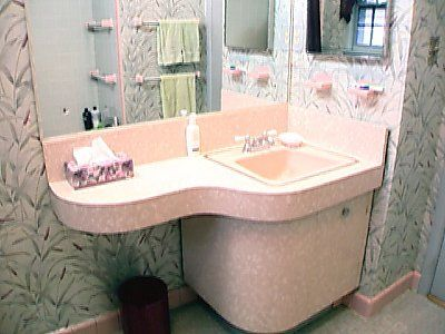 pink bathrooms bathroom vanities and addiction on pinterest. Black Bedroom Furniture Sets. Home Design Ideas