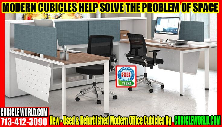 Modern Office Cubicles For Sale Call Us For A FREE Cubicles Quote  713-412-3090. Visit Our Office Cubicle Warehouse Located At 11050 West Little York, Bldg J, Houston TX 77041 Modern Offic Cubicles For Sale  Enclosed offices versus cubicles? Which plan makes the most sense for your company? Will your managers accept working in cubicles, or do they want to have their individual offices, to mark their roles within your business? As you think of these and other considerations, the biggest…