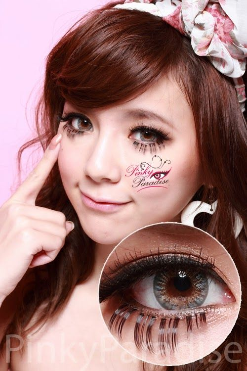 Vassen Rainbow Eyes Grayish Blue Circle Lenses