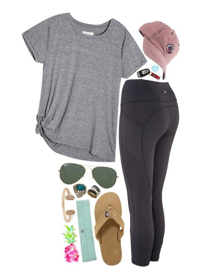 we dont have to go out~ by marinampetrillo ❤ liked on Polyvore featuring Ray-Ban, Vineyard Vines, Southern Proper, Miss Selfridge and Kendra Scott