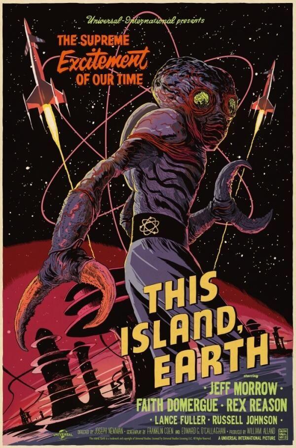 Twitter / f_francavilla: THIS ISLAND EARTH