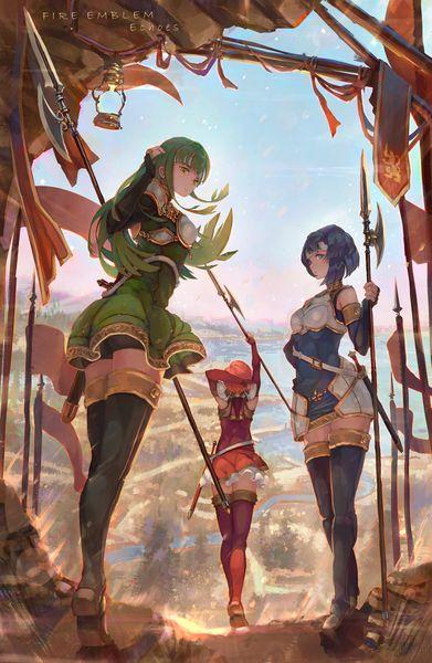 Las Hermanas Pegaso Catria, Palla y Est (Fire Emblem)