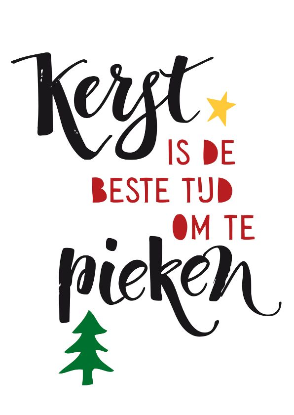 Tijd om te pieken! Margriet wenst iedereen een warme en gezellige kerst. Om de feestdagen extra feestelijk te maken toverden wij de mooiste kaarten. Deze kerstkaart is verkrijgbaar bij #kaartje2go voor € 0,99