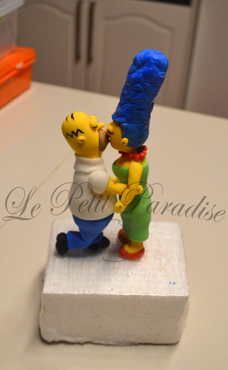 Homer &Marge Simpson in Sugar  https://www.facebook.com/petit.paradise