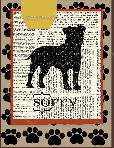 dog sympathy - MDS - stampin up                                                                                                                                                                                 More