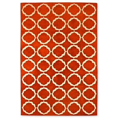 Happy Chic By Jonathan Adler Retro Floral Wool Rectangular Rugs