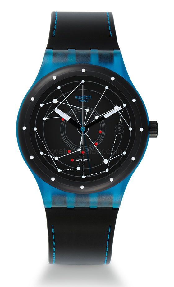 Swatch Sistem 51 This watch is a breakthrough: a mechanical, automatic movement consisting of only 51 parts, and selling for around 150 Euros. Proof that anything is possible as long you really want to get it done. How cool it that?