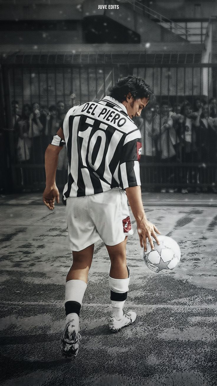 Del Piero #football #juventus #legend