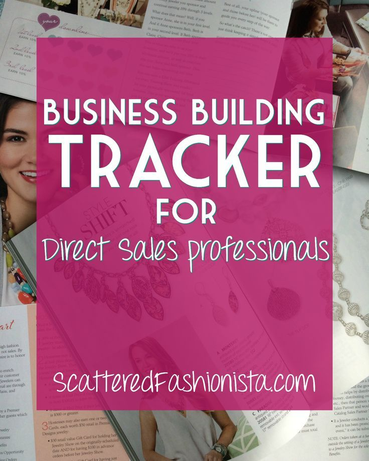 Business Building Tracker for Direct Sales | This post links to a handy tool for those in direct sales, network marketing, or home party businesses to track their activity for maximum success. Pin this so you have access when you need it!