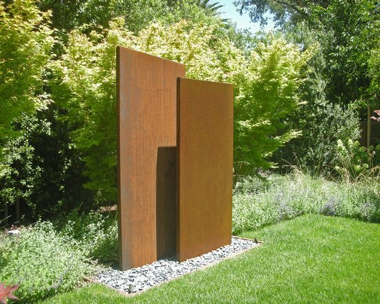 Corten Steel Screen Design,
