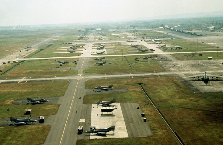 1903-1991 US MILITARY: Clark Air Base  is a Philippine Air Force base on Luzon Island in the Philippines, located 3 miles west of Angeles, about 40 miles northwest of Metro Manila. Clark &  was previously a US military facility, operated by the US Air Force under the aegis of Pacific Air Forces (PACAF) & their predecessor organizations from 1903-1991. Wikipedia.