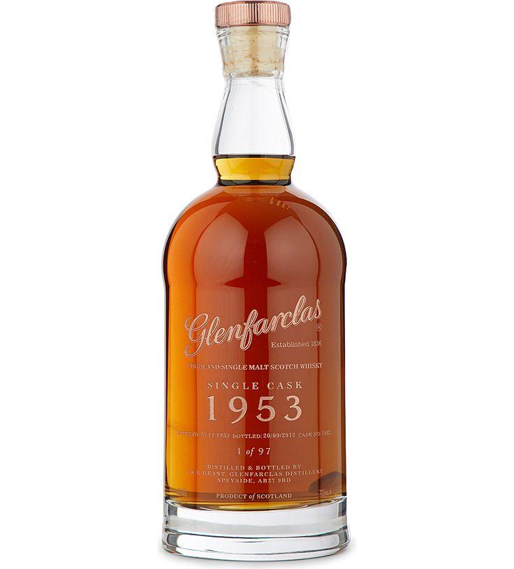 GLENFARCLAS Glenfarclas single cask 1953 whisky 700ml