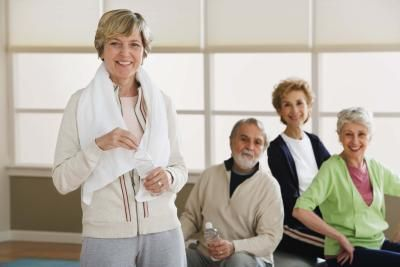 Stomach Exercises for Senior Women Oh my gosh I just admitted to being a senior (and NOT in high school or college)