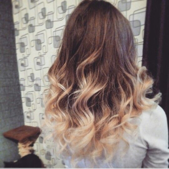 beach natural ombre!;-* my favorite...