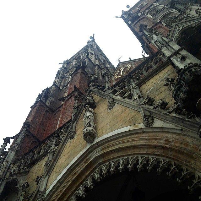 #wroclaw #old #architecture #church #gothic #roman #baroque #building   Wrocław, Poland