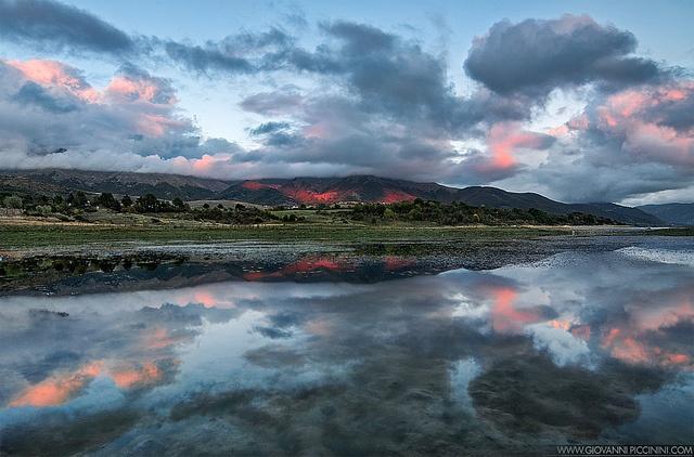 X-factor - Monti della Laga at sunset by Giovanni Piccinini, via Flickr