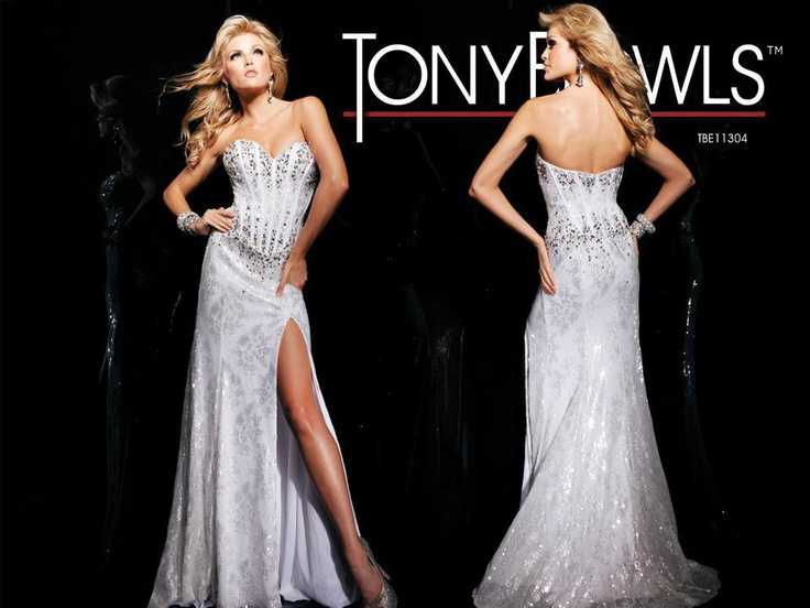 Tony Bowls Paris » Style No. 113756 » Tony Bowls   Evening Gowns ...
