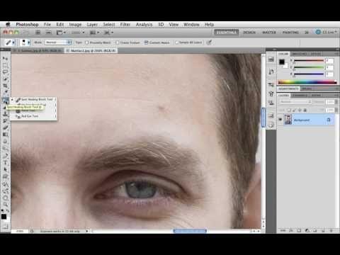 Grunderna i Photoshop CS5 - 16 Ta bort fläckar