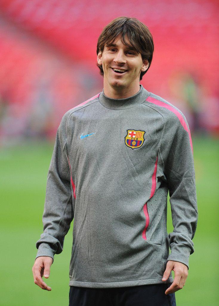 Lionel Messi Photos: Barcelona Training & Press Conference - UEFA Champions League Final