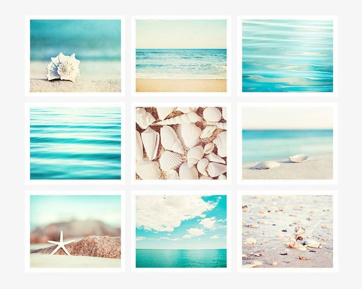 Turquoise Beach Photo Set of 9 – Kate