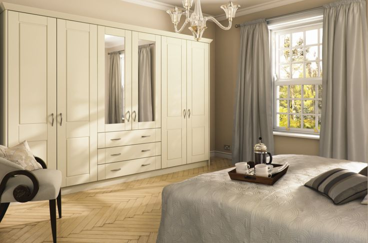 made to measure wardrobes from the bella alabaster surrey bedroom range light coloured furniture creates an airy feel to your bedroom - Ly Design Your Bedroom