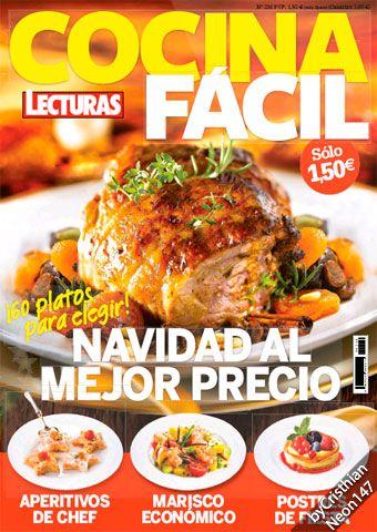 Cocina Facil Lecturas N 216 Diciembre 2015 Navidad Al Mejor