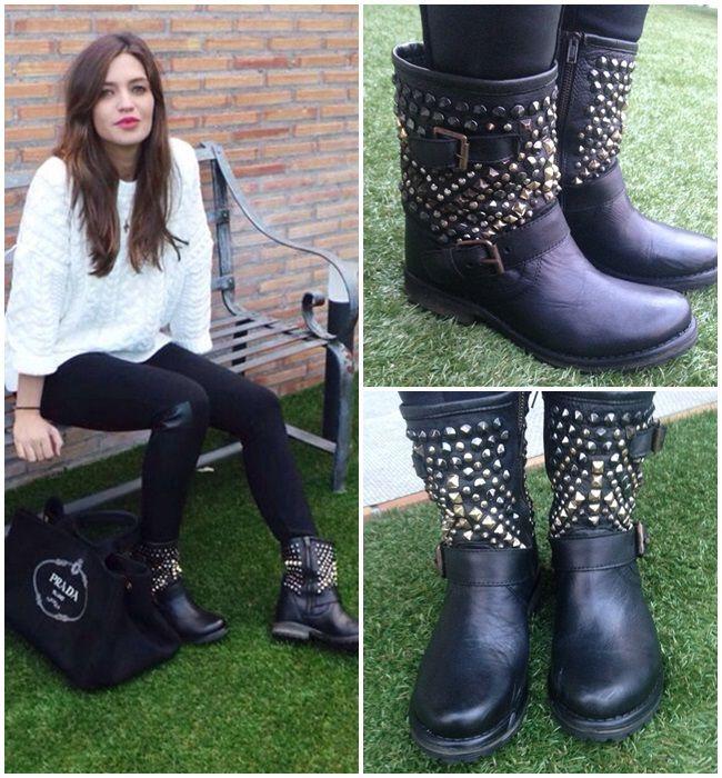 """Los estilismos con botas de Sara Carbonero en su blog """" Cuando nadie me ve"""""""