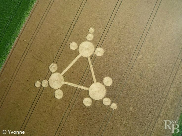 Crop Circle At Standdaarbuiten, nr Oudenbosch, The Netherlands. Reported 30th July 2013 - One Vibration