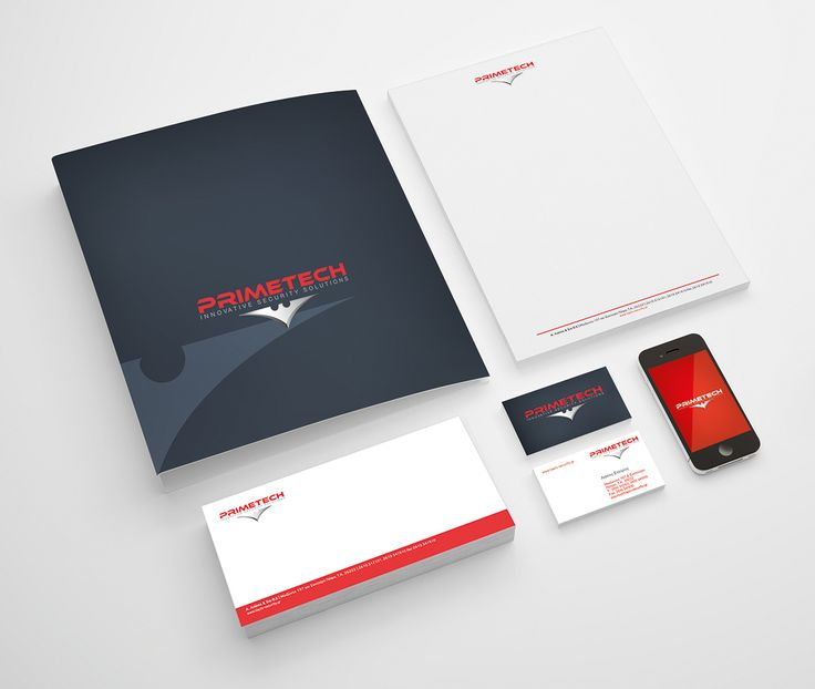 Corporate Identity for Primetech, Security Company