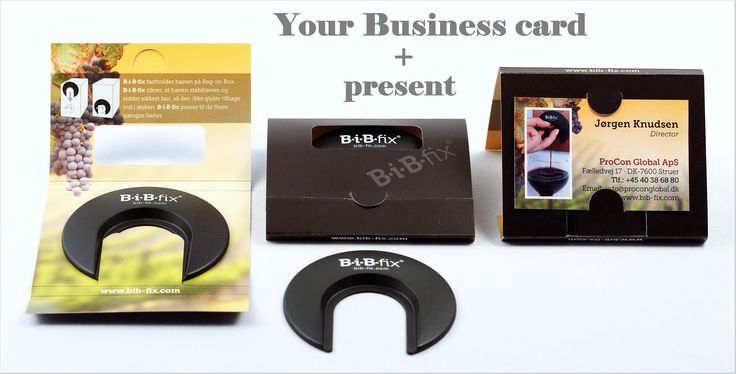 Business card + #present = guaranteed deal Interested? more info: info@proconglobal.dk
