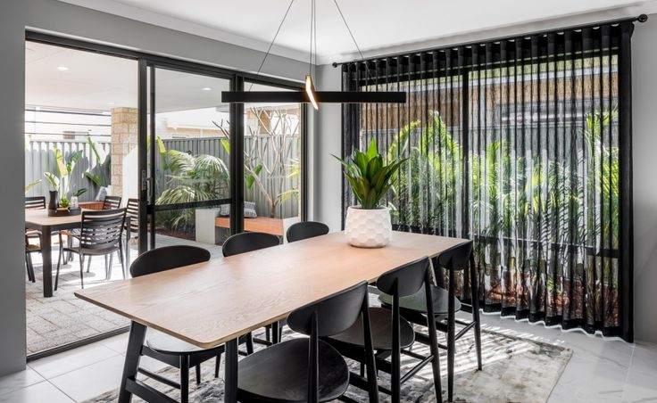 The dining space also offers direct access to the undercover alfresco