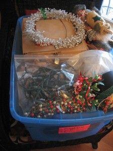 Christmas Tree Storage Box Rubbermaid