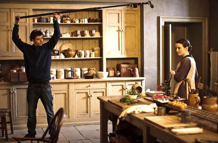Downton Abbey Downstairs 2013 – A Year in Review Clocks, Calendars, and a Touch of Blue … Decorating for the New Year. The cabinets An Update on the Room ...
