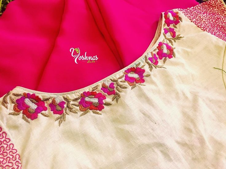 YBA037: Pink saree with Half white classy embroidery blouse!!!They can customize the size as per your requirement.To order please reach on 7550227897 / 044 42037313.<br>Yoshnas No.2 Co-operative colony Chamiers Road Chennai. Landmark : Next to Hotel Crown Plaza (Park sheraton)Work Unit:Yoshnas No 10b Kuppusamy street Nanganallur Chennai. 15 May 2017