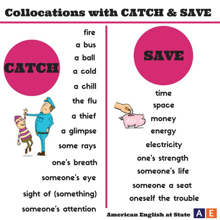 """It is going to be warm and sunny in Washington, DC today, so we hope to """"catch some rays""""! """"Catch some rays"""" is a collocation that means to be outside in the sunshine. A collocation is a pair or group of words that are used together. Check out our #AmericanEnglish graphic for other collocations that use the verbs """"catch"""" and """"save."""" Can you use one or more of these in a sentence?"""