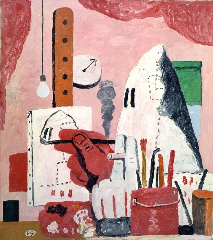 Philip Guston - The Studio   1969 122x107 cm private collection