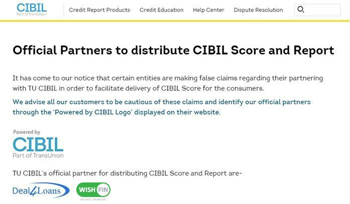 Campaign Cibil Score Apply Online For Loans Credit Cards Investments Insurance At Wishfin With Images Free