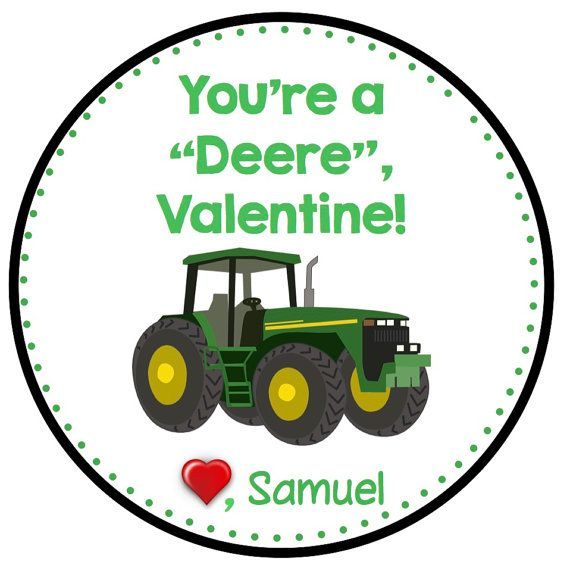 Tractor Valentine Cards : Best images about john deere valentines day ideas on
