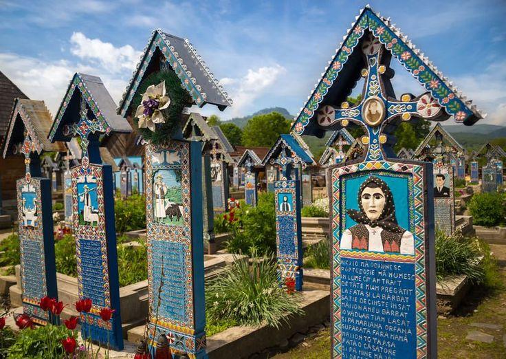 Cimitirul Vesel din Săpânța, în topul celor mai bizare locuri din lume
