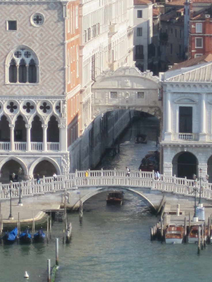Bridge of Sighs as viewed from the #cruise ship
