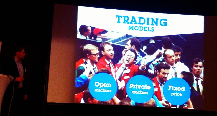 Trading models in display  @ 29.11.2012 IAB Finlands seminar HOT or NOT