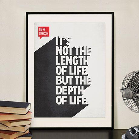 Gedankennahrung in Form von Postern