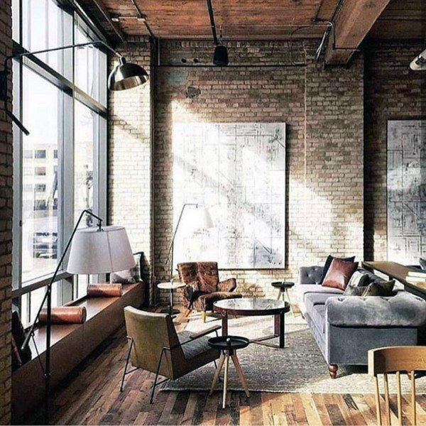 5 Top Unique Ideas Industrial Loft Furniture Industrial Art Furniture Industrial Farmhouse Lof Industrial Interior Design Industrial Livingroom Loft Interiors